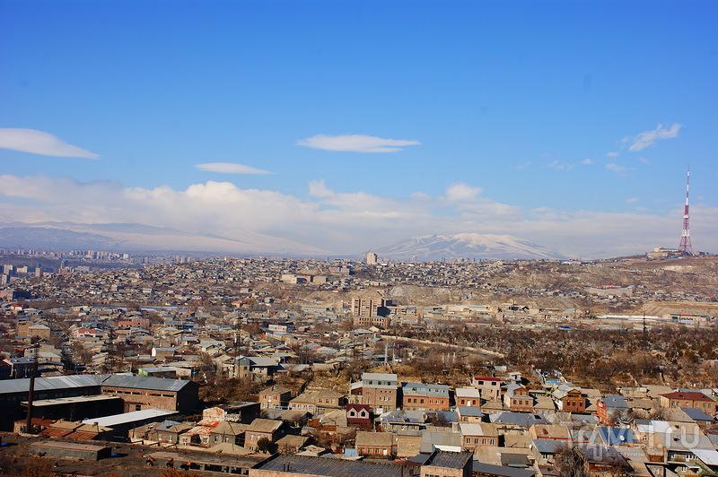 Панорама Еревана / Армения