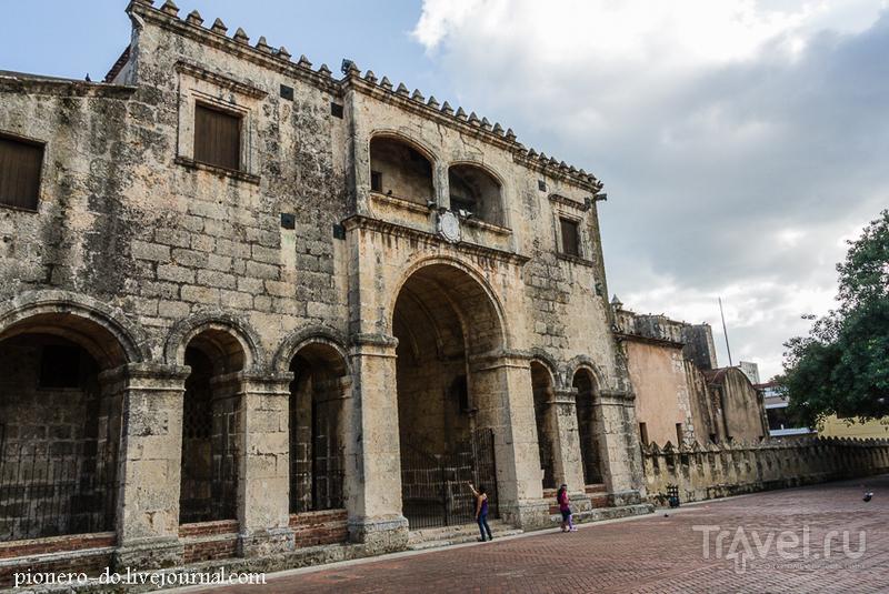 Кафедральный собор Пресвятой Девы Марии в Санто-Доминго, Доминикана / Фото из Доминиканской Республики