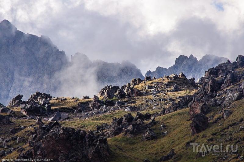 Эльбрус с севера / Фото из России