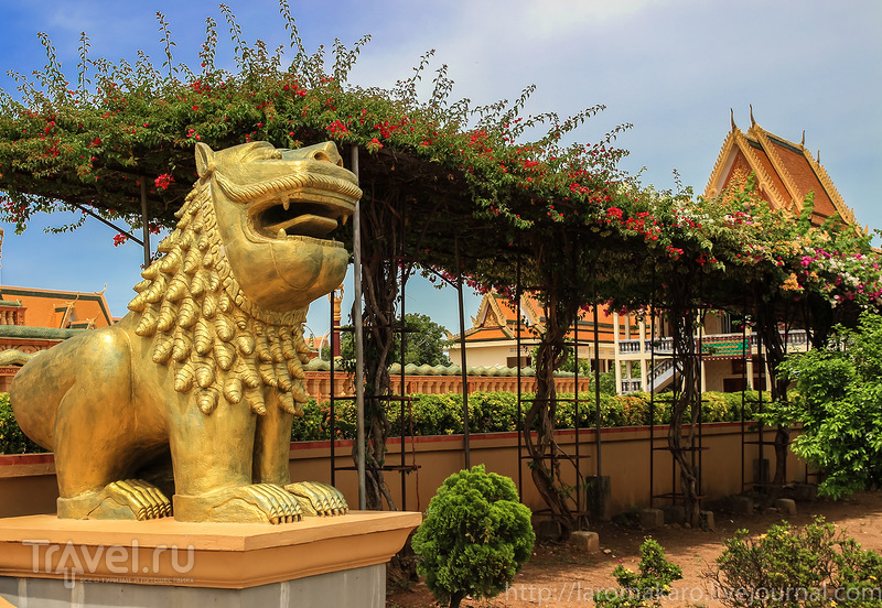 Центр медитации випассана в Удонге / Фото из Камбоджи