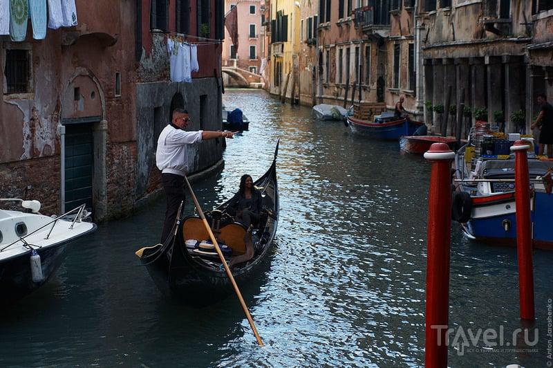 Транспорт в Венеции / Италия.