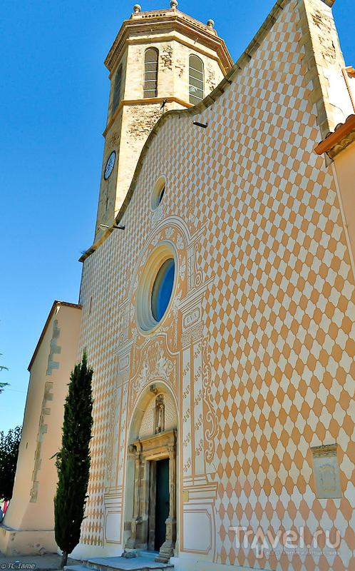 Церковь-Санта-Мария в Пинеда-де-Мар, Испания / Фото из Испании