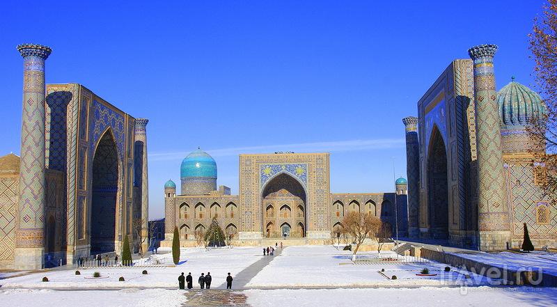 В городе Самарканд, Узбекистан / Фото из Узбекистана