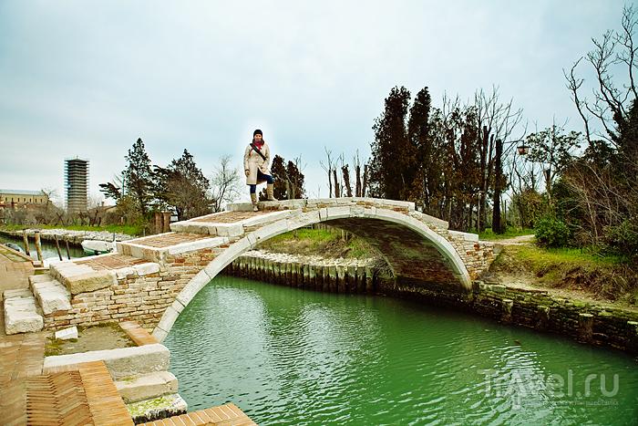 Мост Дьявола на острове Торчелло, Италия / Фото из Италии