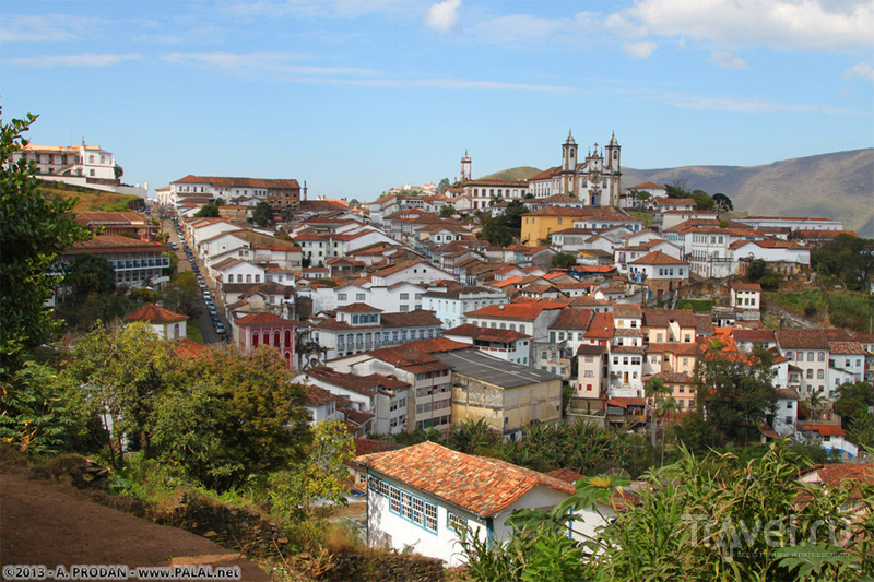 В городе Ору-Прету, Бразилия / Фото из Бразилии