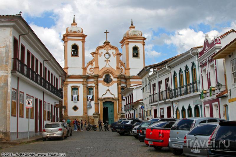 Собор Марии Пилар в Ору-Прету, Бразилия / Фото из Бразилии