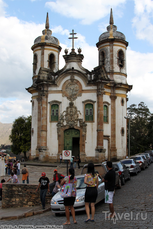 Собор Святого Франциска Ассизского в Ору-Прету, Бразилия / Фото из Бразилии