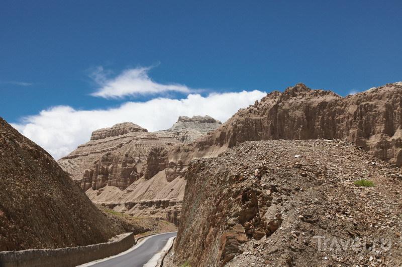 На внедорожниках в Тибет. Дорога на Занду / Фото из Китая