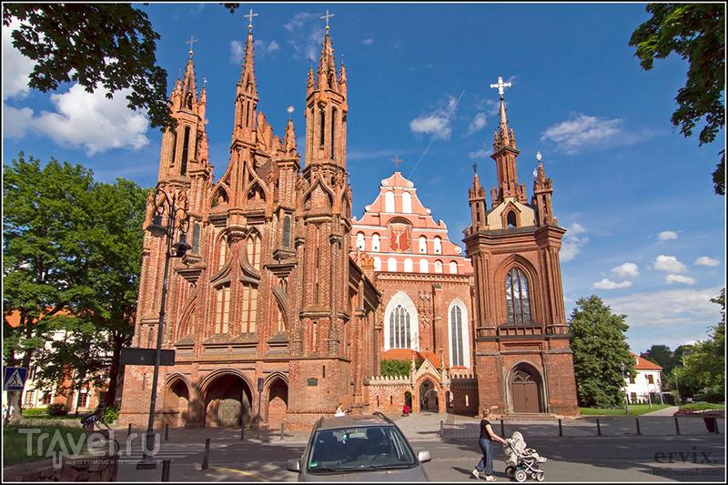 Костел Святой Анны в Вильнюсе, Литва / Фото из Литвы