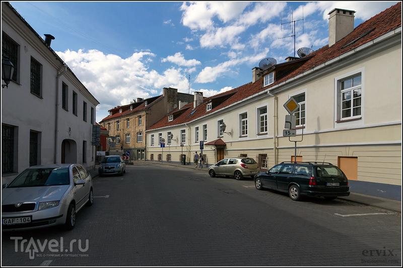 В районе Ужупис в Вильнюсе, Литва / Фото из Литвы