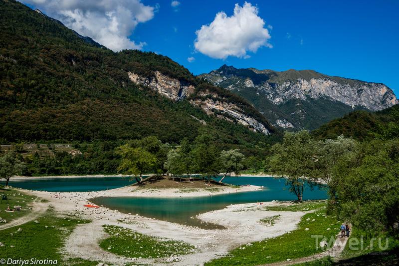 Озеро Тенно, Италия / Фото из Италии