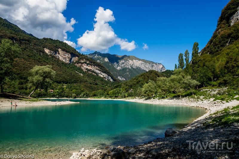 Тенно - самое чистое озеро Италии / Фото из Италии