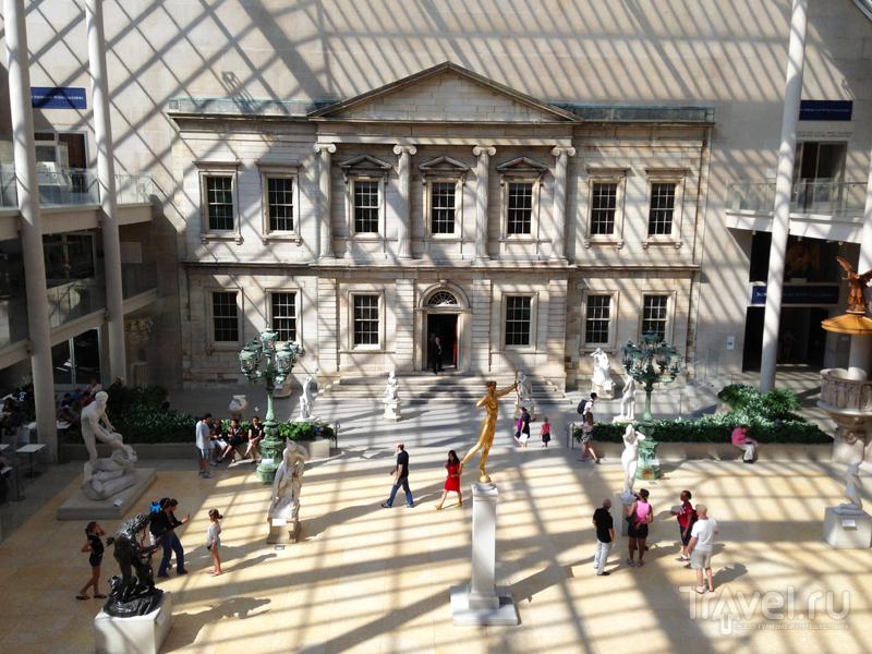 Метрополитен музей в Нью-Йорке