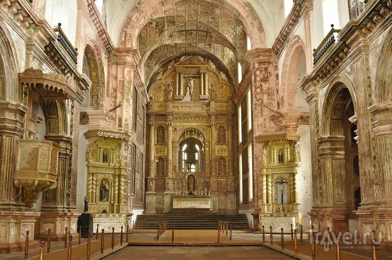 Церковь Святого Франциска Ассизского в Гоа, Индия / Фото из Индии