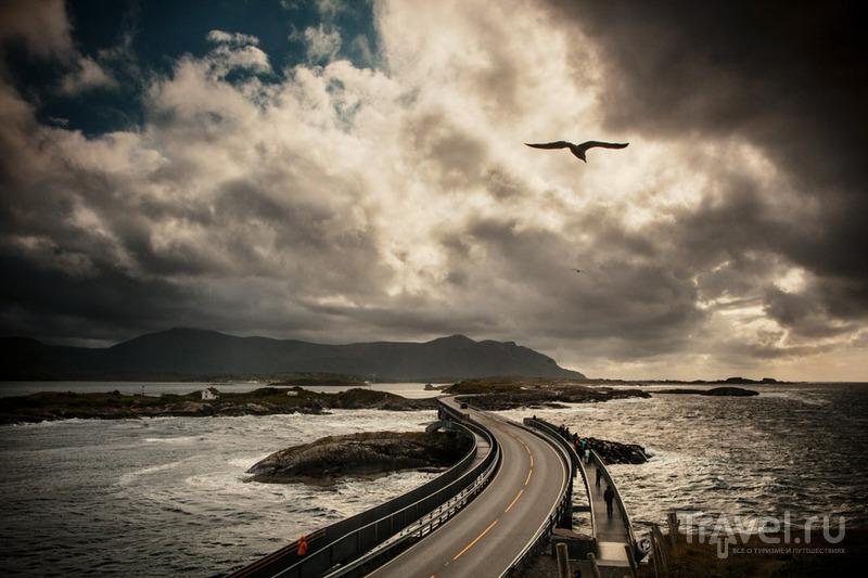 Атлантическая дорога в Норвегии / Фото из Норвегии