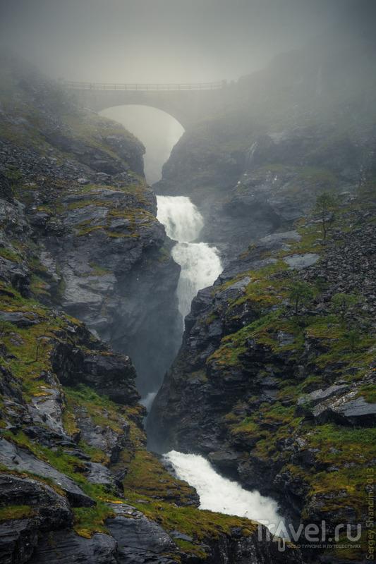 Водопад Стигфоссен в Норвегии / Фото из Норвегии