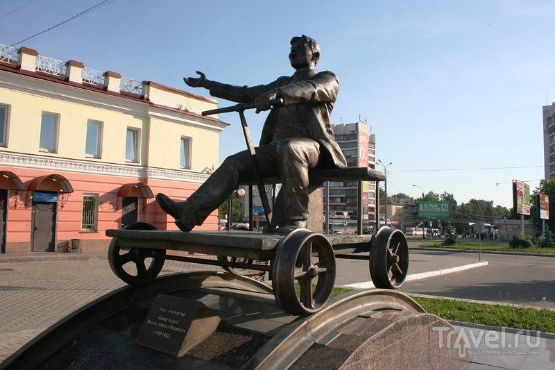 Памятник Йывану Кырле в Йошкар-Оле, Россия / Фото из России
