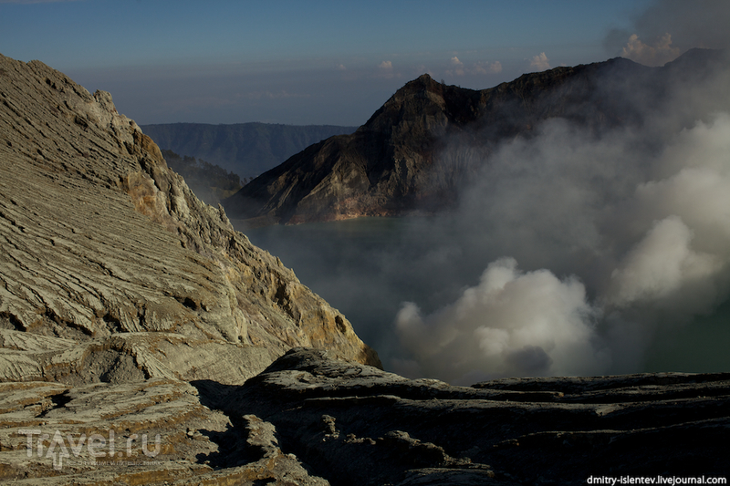 Вулкан Иджен (Kawah Ijen), о. Ява / Индонезия