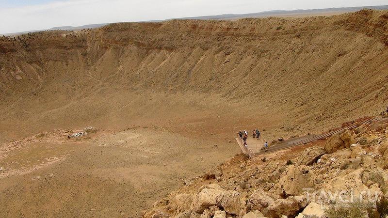 Метеорит в штате Аризона / США