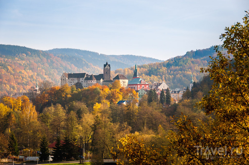 Замок Локет, Чехия / Фото из Чехии