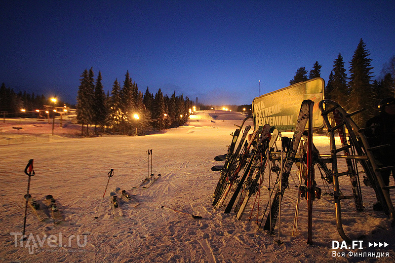 Вуокатти - северный курорт!