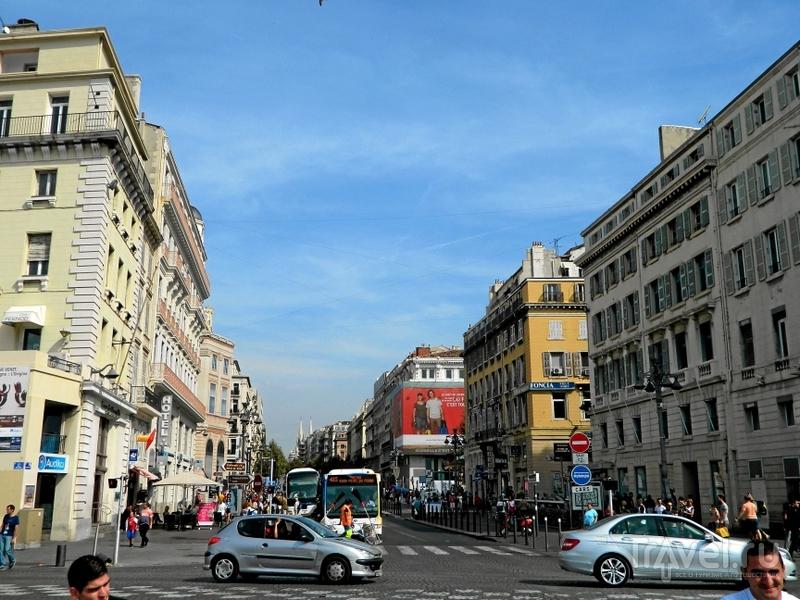 Улица La Canebiere в Марселе, Франция / Фото из Франции