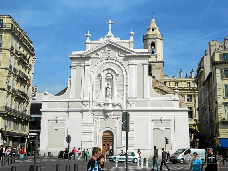 Церковь Saint-Ferréol в Марселе, Франция / Фото из Франции