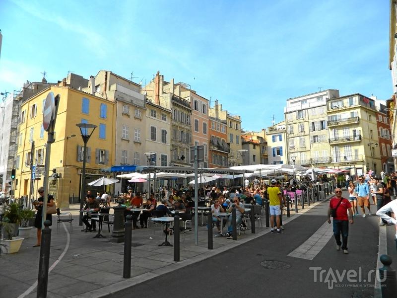 Place de Lenche в Марселе, Франция / Фото из Франции