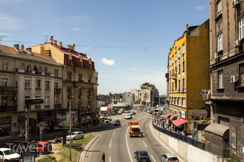 В городе Белград, Сербия / Фото из Сербии
