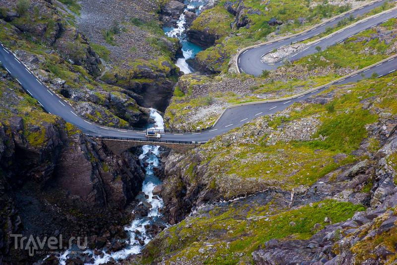 Водопад Стигфоссен, Норвегия / Фото из Норвегии