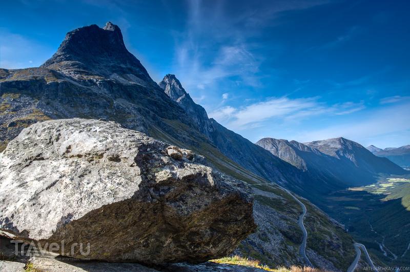 Вершины Дроннинген и Бископ, Норвегия / Фото из Норвегии