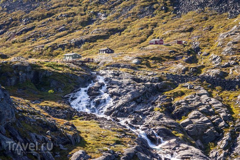 Вверх по лестнице Троллей / Фото из Норвегии
