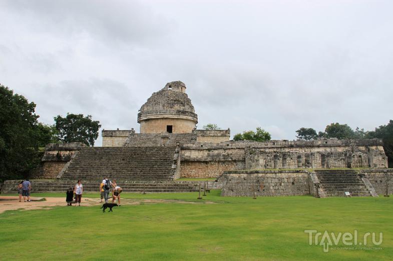 Полуостров Юкатан. Чичен-Ица и сенот Ик Киль / Мексика