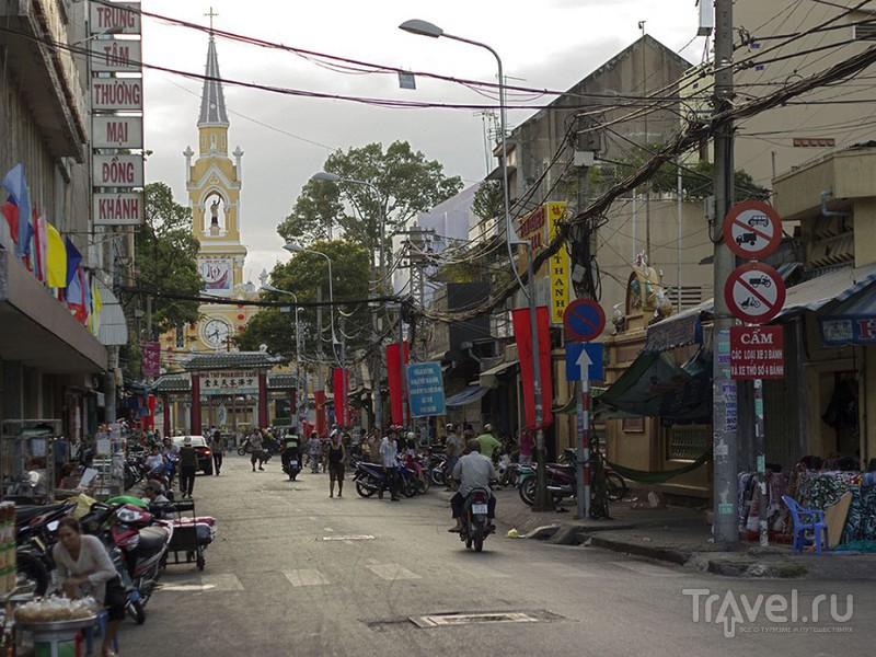 Церковь Тьятам в китайском квартале Хошимина, Вьетнам / Фото из Вьетнама