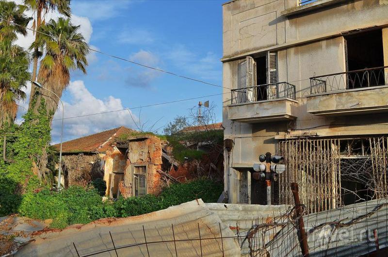 Брошенный город Вароша (Северный Кипр)
