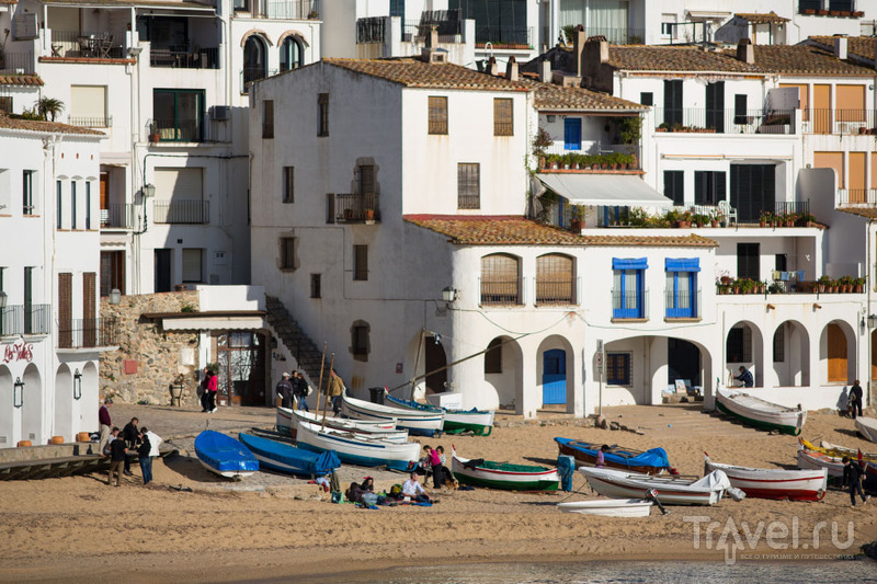 Город Calella de Palafrugell, Испания / Фото из Испании