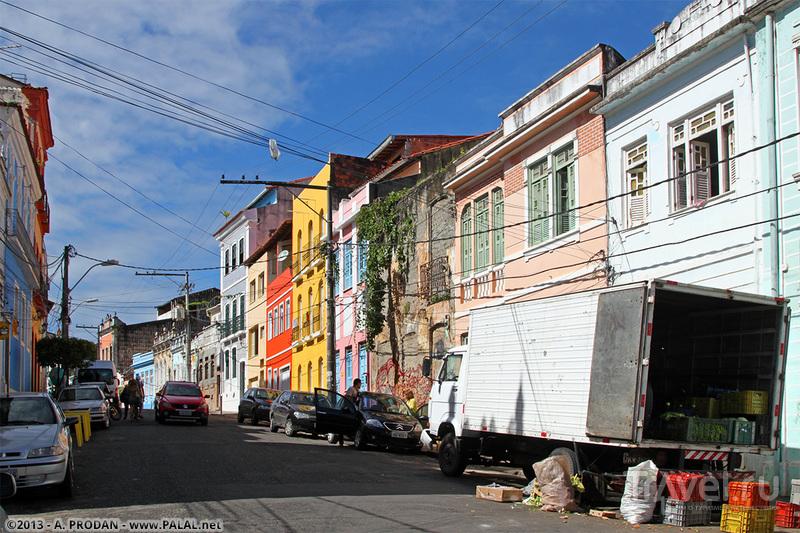 Исторический центр Салвадора - Пелуринью / Фото из Бразилии