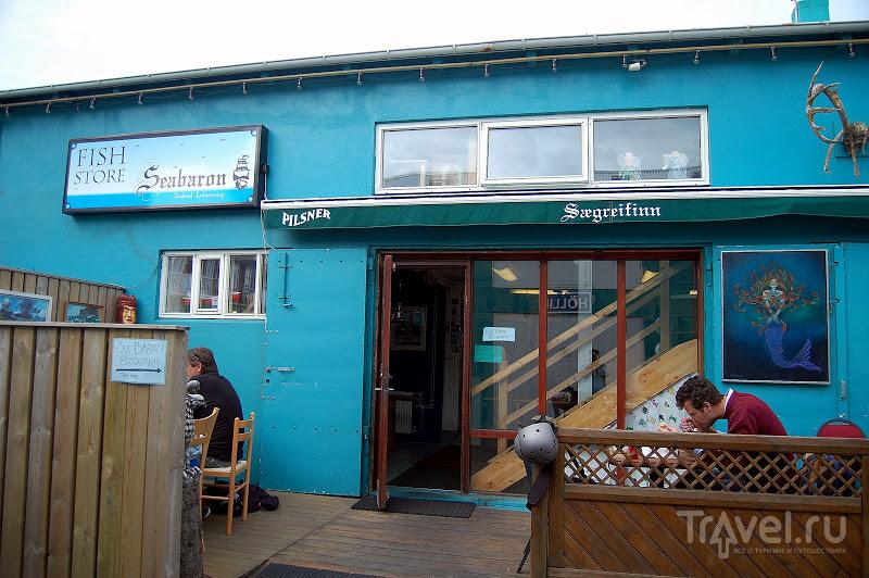 Ресторан Seabaron в Рейкьявике, Исландия / Фото из Исландии