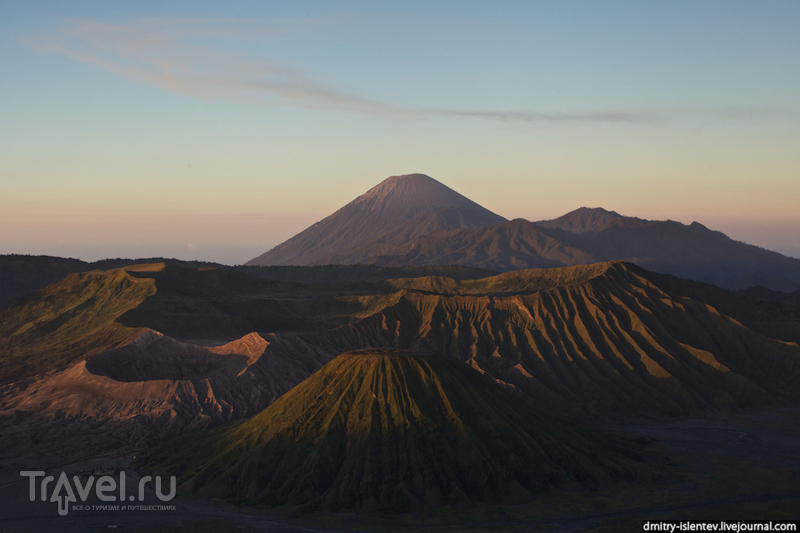 Панорама Национального парка Бромо-Тенгер-Семеру / Индонезия