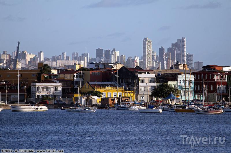 Бразилия: электричка в Салвадоре / Бразилия