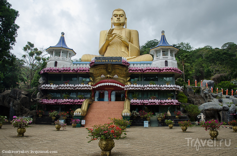 В городе Дамбулла, Шри-Ланка / Фото со Шри-Ланки