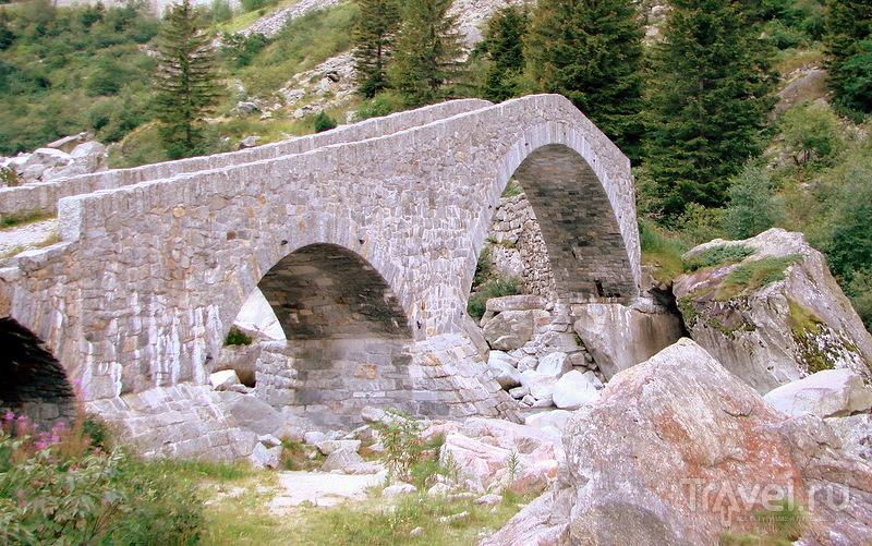 Чёртов мост / Швейцария