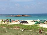 Рыбацкие лодки / Шри-Ланка