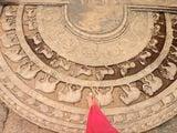 Орнамент на полу / Шри-Ланка