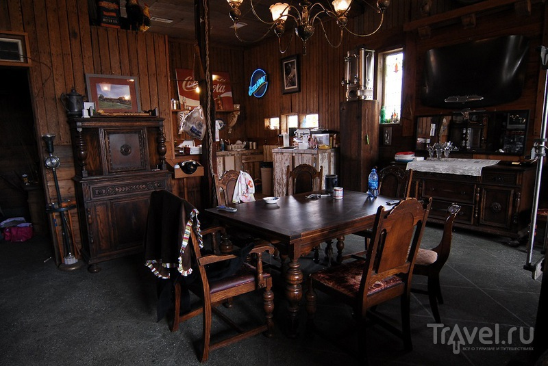 Отель Shack Up Inn B&B в Кларксдейле, США / Фото из США