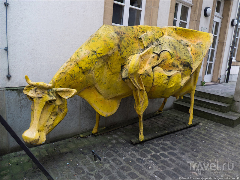 Люксембург. Необычное искусство / Люксембург