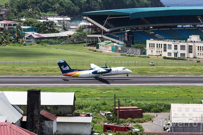 Полет над Гренадинами / Фото с Сент-Винсента и Гренадин
