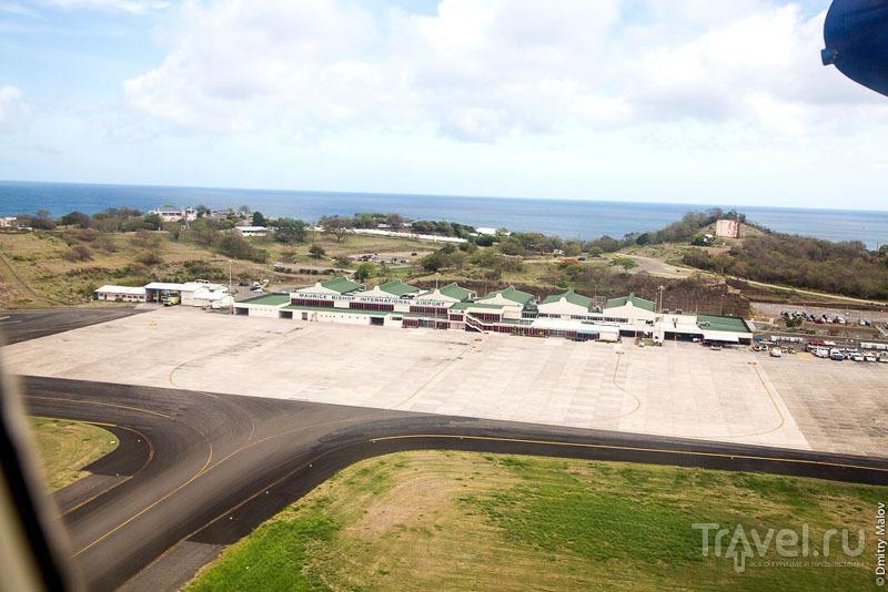 Аэропорт Мориса Бишопа в Гренаде / Фото с Сент-Винсента и Гренадин