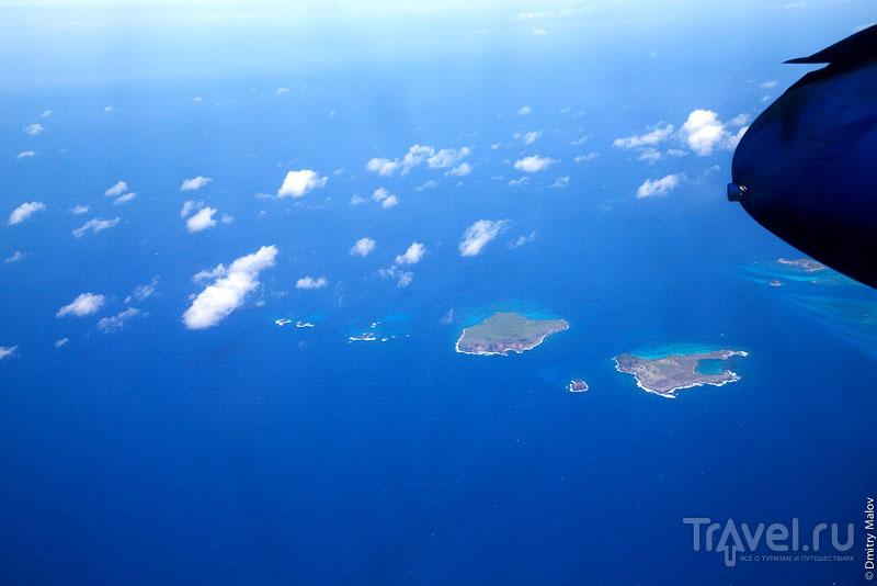 Острова Лардж-Айлет и Фригит / Фото с Сент-Винсента и Гренадин