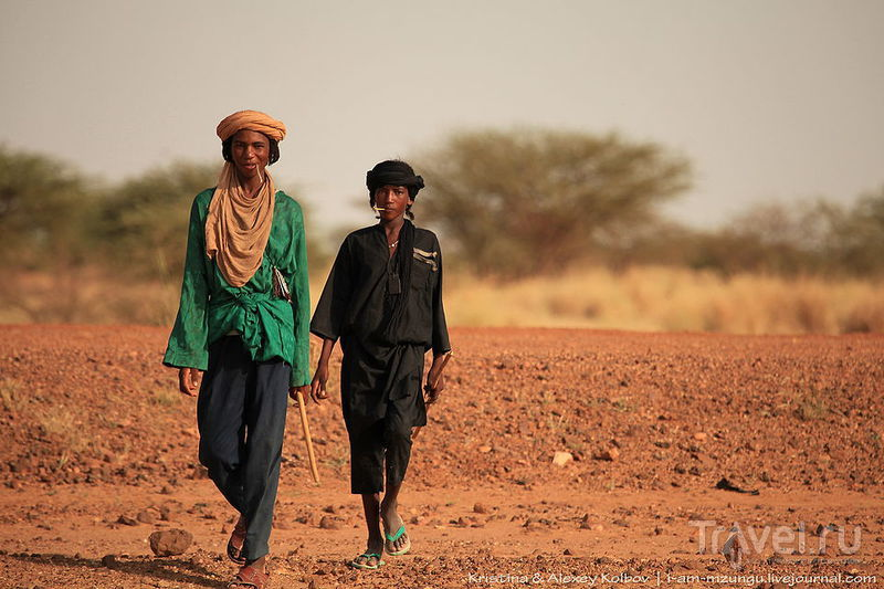 Нигер: Театр посреди Сахары. Кони - Тауа - Ингол / Нигер